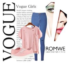 """""""ROMWE"""" by smajicelma ❤ liked on Polyvore featuring Miss Selfridge and Vans"""