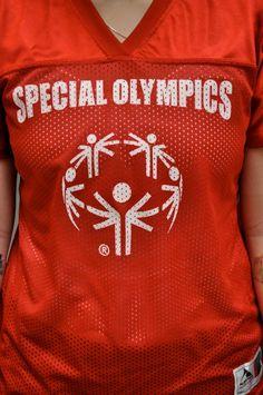 Special Olympics jerseys