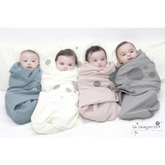 Happy Friday! Discover amazing #organic #swaddles by #LaLangerie at fancykids.com  #children #fashion #online #store #FancyKids #London #uk