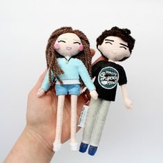 Christmas time is one of the busiest times in the business year. Here's another completed custom order. Selfie art dolls for Tom. Birthday Message For Boyfriend, Birthday Messages, Art Dolls, Christmas Time, Etsy Store, Anniversary Gifts, Diy And Crafts, I Shop, Goodies