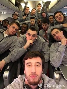 Men's Basketball selfie