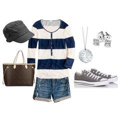 Love the sneakers & necklace especially