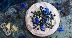 Blåbärstårta med vit choklad - Recept | Arla