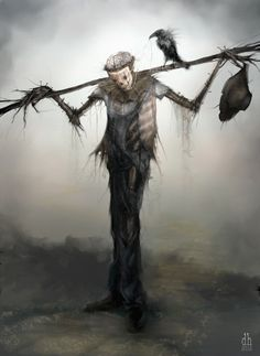 Spooky! Art by someone on deviantart.com. If anyone knows who the artist is please let me know so I can properly attribute it.