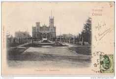 Ukraine - CPA UKRAINE ODESSA Le Sanatorium Timbre Stamp 1904