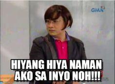 Memes Pinoy, Memes Tagalog, Pinoy Quotes, Filipino Memes, Filipino Funny, Funny Profile Pictures, Funny Reaction Pictures, Meme Pictures, Funny Menes
