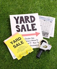 Get rid of your junk and make money with these garage sale tips.