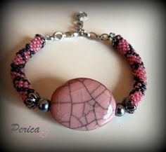 Pulsera Crochet Pinrey de Las Cositas de Perica por DaWanda.com