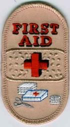 Buy 1st Aid Embroidered Patches At PatchSales.com