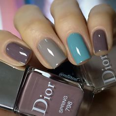 There are nail designs that include only one color, and some that are a combo of several. Some nail designs can be plain and others can represent some interesting pattern. Also, nail designs can differ from the type of nail… Read more › Gorgeous Nails, Love Nails, How To Do Nails, Fun Nails, Nails Polish, Nail Polish Designs, Nail Art Designs, Nagellack Design, Manicure And Pedicure