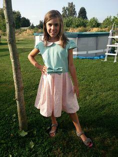 Kleedje Babette#zelfgemaakte kleertjes 2