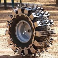 I've never seen so many hits on a tire design to be used in the sod farms ,Some Moron said it was used during Zombie Apocolypse .