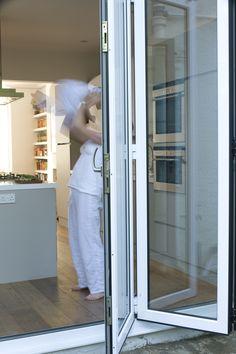 Child Safe Finger Gaskets Between Each Door Leaf Bifold Open E Living