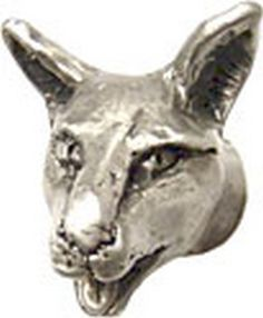 Rosalie Sherman Designs 'Felicia' Small Cat Head Cabinet Knobs