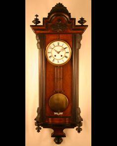 German Made Vienna Regulator Wall Clock Circa 1880