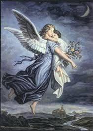 The Guardian Angel Canvas Art - Wilhelm Von Kaulbach x Guardian Angels, The Guardian, Wicca, Calming Images, Funeral Thank You Cards, Angel Pictures, 5d Diamond Painting, Easy Paintings, Art Forms