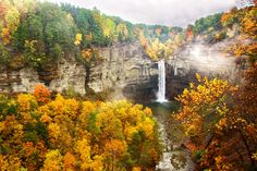 Taughannock Falls State Park is a State Park in Trumansburg. Plan your road trip to Taughannock Falls State Park in NY with Roadtrippers. State Parks, Watkins Glen State Park, Les Cascades, All Nature, Amazing Nature, Lake George, Picnic Area, Vacation Trips, Vacation Ideas