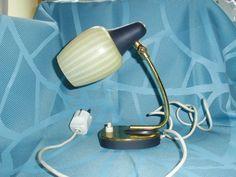 Vintage Tischlampen - Original 50er Jahre Nachttischlampe - ein Designerstück…