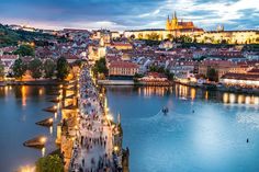 Prague, Czech Republic. Thanks to the old preserved town and the fairytale architecture that makes Prague as one of the romantic settings in the world. Lose yourselves in the beauty of this ancient city that makes it lovers paradise.