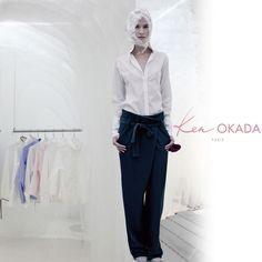 Ken Okada, mélange de slam et d'Haiku version mode. Yohji Yamamoto, Haiku, Slammed, Kenzo, Suits, Style, Fashion, Outfits, Moda