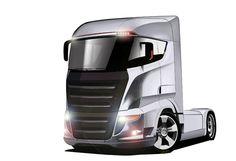 My Illustrator Playground Car Design Sketch, Truck Design, Car Sketch, Ev Truck, Future Trucks, Nissan Leaf, American Motors, Automotive Design, Electric Cars
