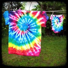 How to make a spiral tie dye pattern by isewcute!