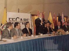 Almuerzo de la FECABE el 2 de Mayo del 2002 en el Hotel Hilton Colón