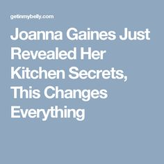 Joanna Gaines Just Revealed Her Kitchen Secrets, This Changes Everything Joanna Gaines House, Magnolia Joanna Gaines, Chip And Joanna Gaines, Magnolia Farms, Magnolia Homes, Fixer Upper Joanna, Chip Gaines, Everything Changes, Farmhouse Style Decorating