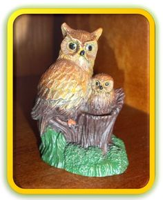 Mama And Baby Owls Brown By Courtneyscornerstore On Etsy, $4.50
