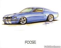 chip foose drawings