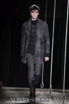 John Varvatos Menswear Fall Winter 2013 Milan