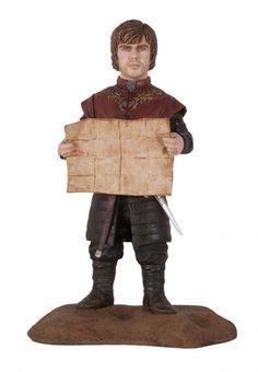 Estatua Tyrion Lannister 15 cm. Juego de Tronos. Dark Horse Espectacular estatua fabricada en PVC de <b>Tyrion Lannister</b> de 15 cm de altura aprox, apodado el Gnomo y Mediohombre debido a su enanismo. Un verdadero regalo para los miles de fans de la serie.