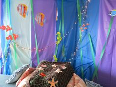under the sea party decor