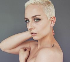 All sizes | _20170610_130558 | Flickr - Photo Sharing! Very Short Hair, Short Pixie, Short Hair Styles, Hair Cuts, Blond, Photo And Video, Eyes, Bob Styles, Haircuts