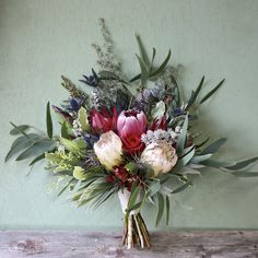 winter wedding floral arrangements wedding flowers - Page 13 of 101 - Wedding Flowers & Bouquet Ideas Protea Wedding, Winter Wedding Flowers, Bridal Flowers, Flower Bouquet Wedding, Floral Wedding, Flower Bouquets, Elegant Wedding, White Floral Arrangements, Wedding Flower Arrangements
