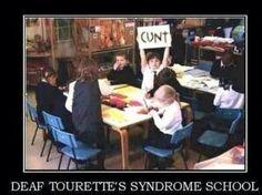 Deaf Tourette's Syndrome
