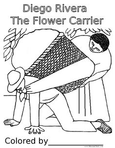 Diego Rivera The Flower Carrier plus more