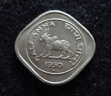 India 1950 1/2 ANNA Coin DIE CRACK British Rule India World Coins Calming Pictures, Indian Artwork, Vintage Vignettes, Coin Auctions, Coin Prices, India Culture, Vintage India, Indian Artifacts, Coin Values