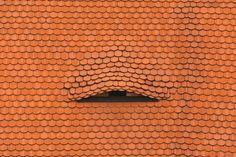 Old Dormer Window On Tiled Roof Free Stock Photo - Libreshot