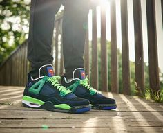 "Air Jordan 4 Retro DB Doernbecher ""Superman"""