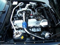 BMW E30 with the BMW 745 M106 engine , its 4.5L E30 with 345 turbo