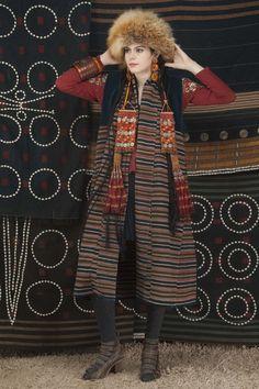 Vintage Tibetan handwoven Wool reversible vest Singkiang inventory for sale