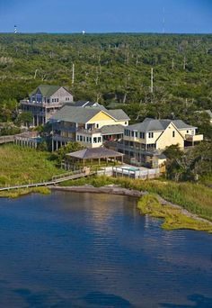 The Inn on Pamlico Sound, is a full service boutique hotel offering world class waterfront accommodations, and fine dining.