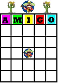 #CincodeMayo party ideas - printable Bandito Bingo, favor, decoration and food ideas too Create a Fabulous Fiesta