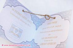 Trying the Knot Wedding Save the Date Card - Haak die knoop deur, onthou die datum troukaartjie  © www.designbyinvitation.co.za