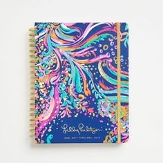 This new jumbo spiral 17-month large agenda from Lilly Pulitzer comes in bright Beach Loot print. Complete with weekly and monthly calendar pages, dates to remember, and notes.  </p><p> August 2017