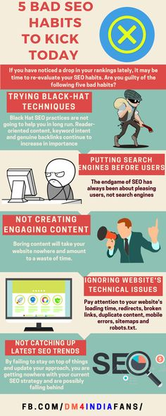 #DigitalMarketing #SEO #SEOtrends #ContentMarketing Friends, always try to stay away these Bad SEO practices for long term benefits of your Business