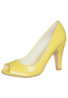 Summers must have - lemon high heels.