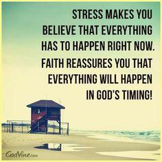 Stress vs Faith