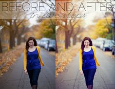 A Before and After in Five Steps – Photoshop Tutorial - visit our page to check more                                                                                           More